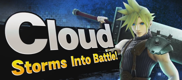 Cloud Storms Into Battle in Smash Bros. for Wii U and 3DS