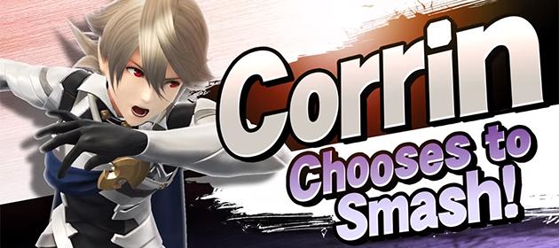 Corrin Chooses to Smash in Latest Smash Bros. DLC
