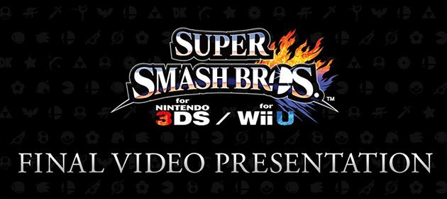 Super Smash Bros. Final Presentation Scheduled for Next Week