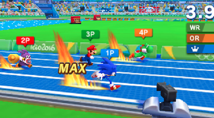 New Screens for 3DS Version of Mario & Sonic at the 2016 Games