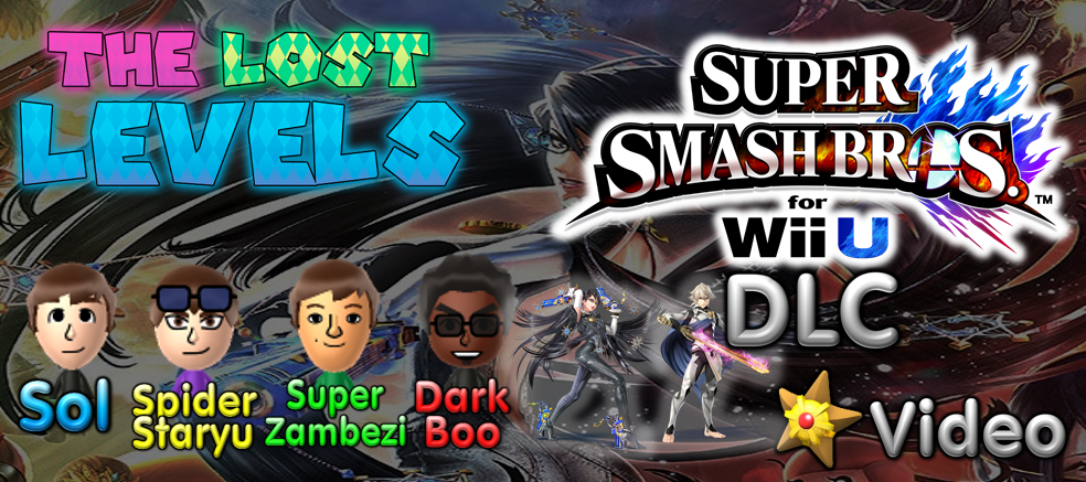 The Lost Levels Play Super Smash Bros. for Wii U DLC!