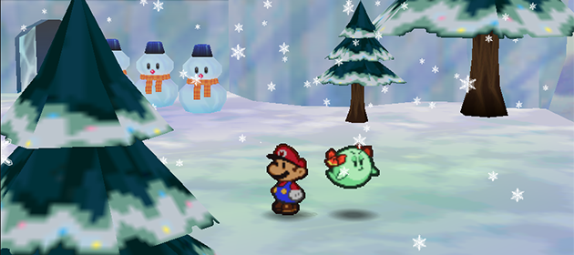 What Makes a Great Snow Level in a Mario Game?