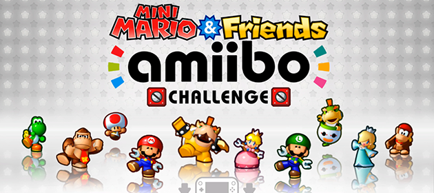 Mini Mario and Friends amiibo Challenge Release Date Announced