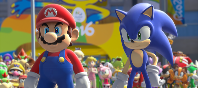 Opening and New Footage of Mario & Sonic 2016 for Wii U