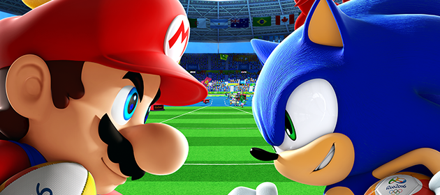 Check Out the Box Art for Mario & Sonic 2016 on the Wii U