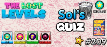The Lost Levels: Episode 209 – Sol's Quiz