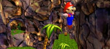 Donkey Kong 64 Hacked into Super Mario 64