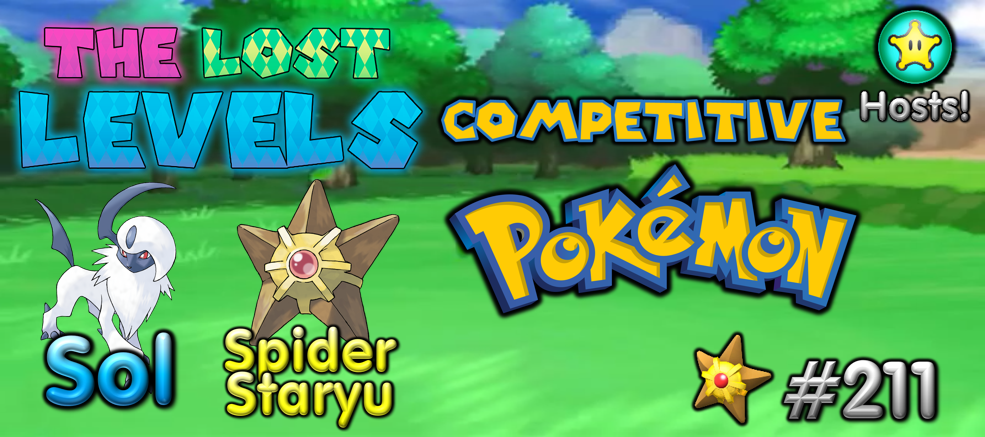 The Lost Levels: Episode 211 – Competitive Pokemon
