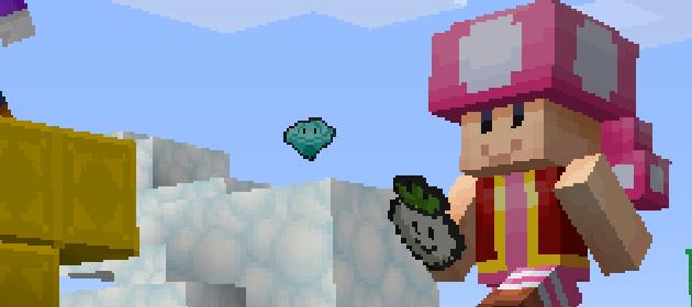 All Super Mario Character Skins In Minecraft Wii U Edition - Skins para minecraft wii u