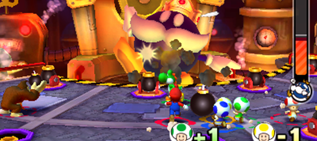 Mario Party: Star Rush - Slide