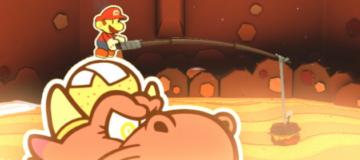 E3 2016: 10 Paper Mario: Color Splash Screens
