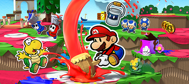 Paper Mario: Color Splash - Slide