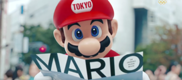 Mario Makes an Appearance During the Olympics Closing Ceremony