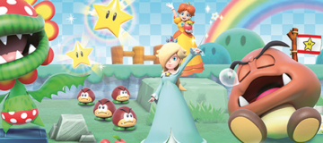 Character Select Screen Spotted for Mario Party: Star Rush