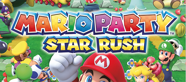 Updated Box Art and Poster for Mario Party: Star Rush