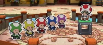 New Trailer Shows Off Rescue V in Paper Mario: Color Splash