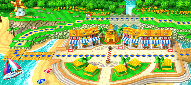 Over 10 Minutes of Mario Party: Star Rush Footage