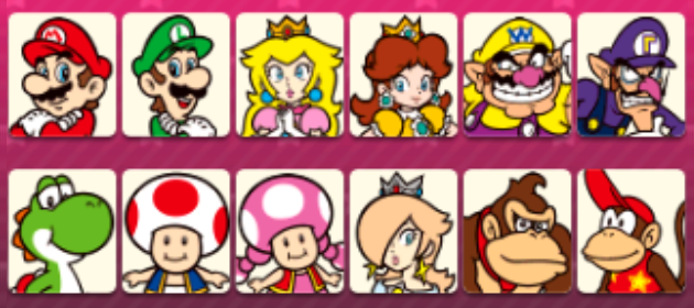 Full Character Roster Revealed for Mario Party: Star Rush