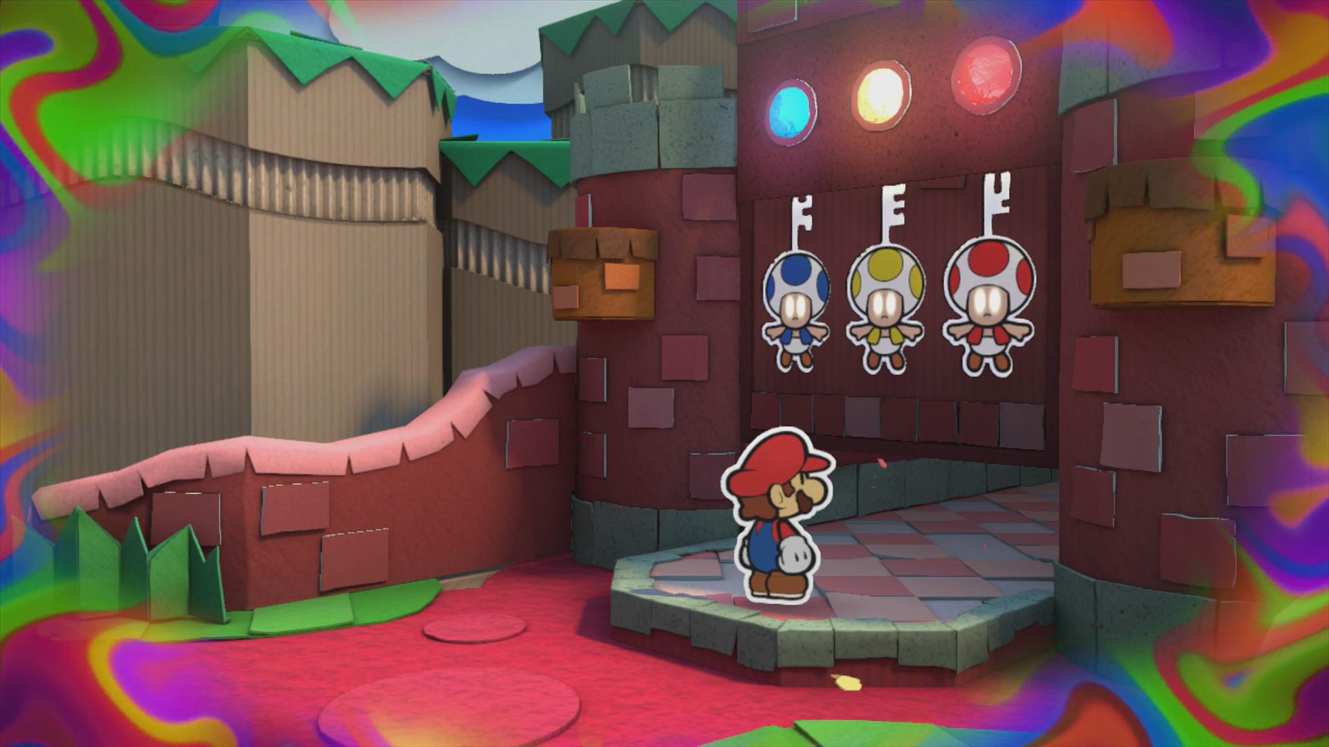 The Crimson Tower Paper Mario Color Splash Walkthrough Mario