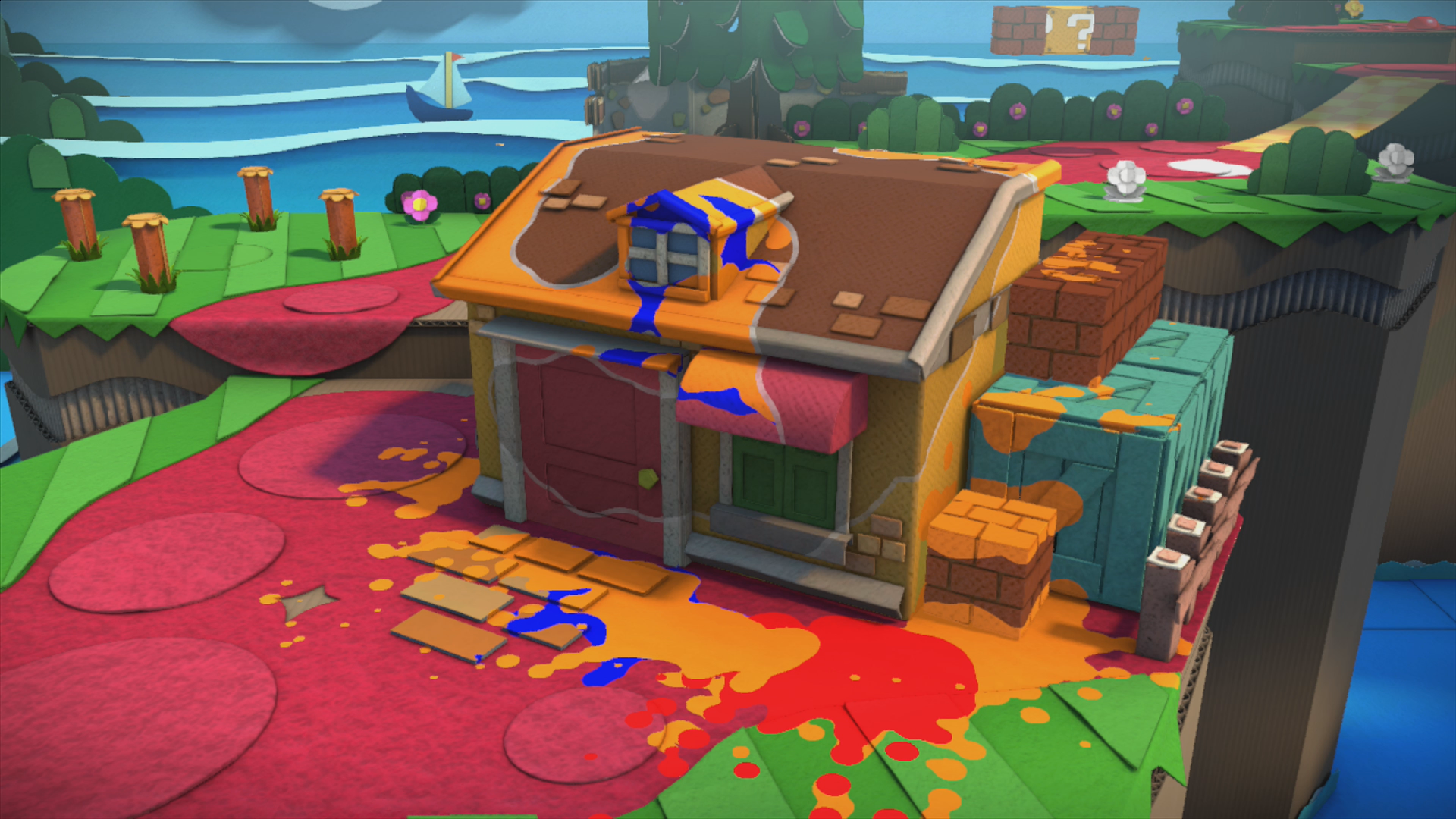 Ruddy Road Paper Mario Color Splash Walkthrough Mario Party