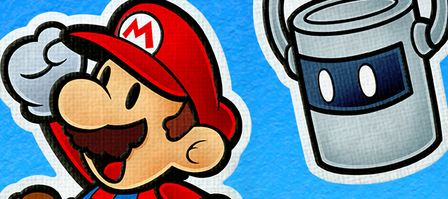 Paper Mario: Color Splash Gameplay Footage at PAX West