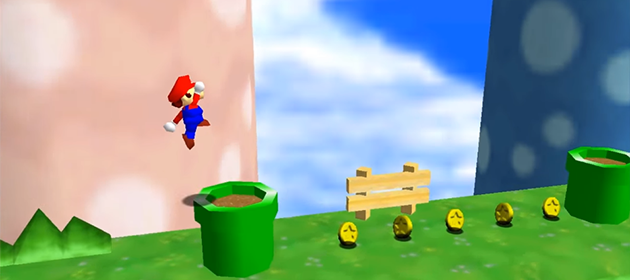 Super Mario Run Already Recreated in Super Mario 64