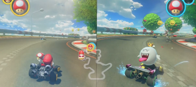 Mario Kart 8 Coming to the Nintendo Switch