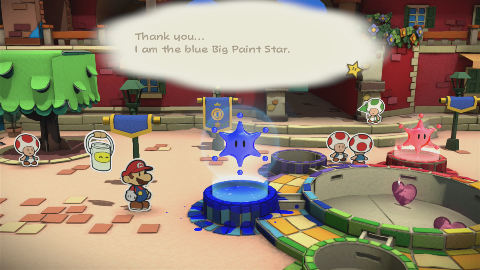 Fort Cobalt - Paper Mario: Color Splash Walkthrough - Mario Party ...