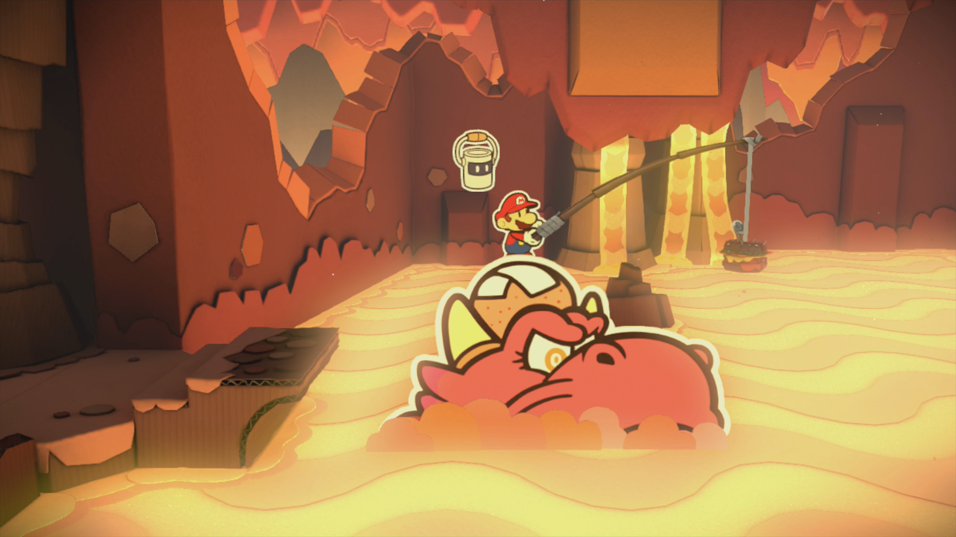 Redpepper Volcano - Paper Mario: Color Splash Walkthrough - Mario ...