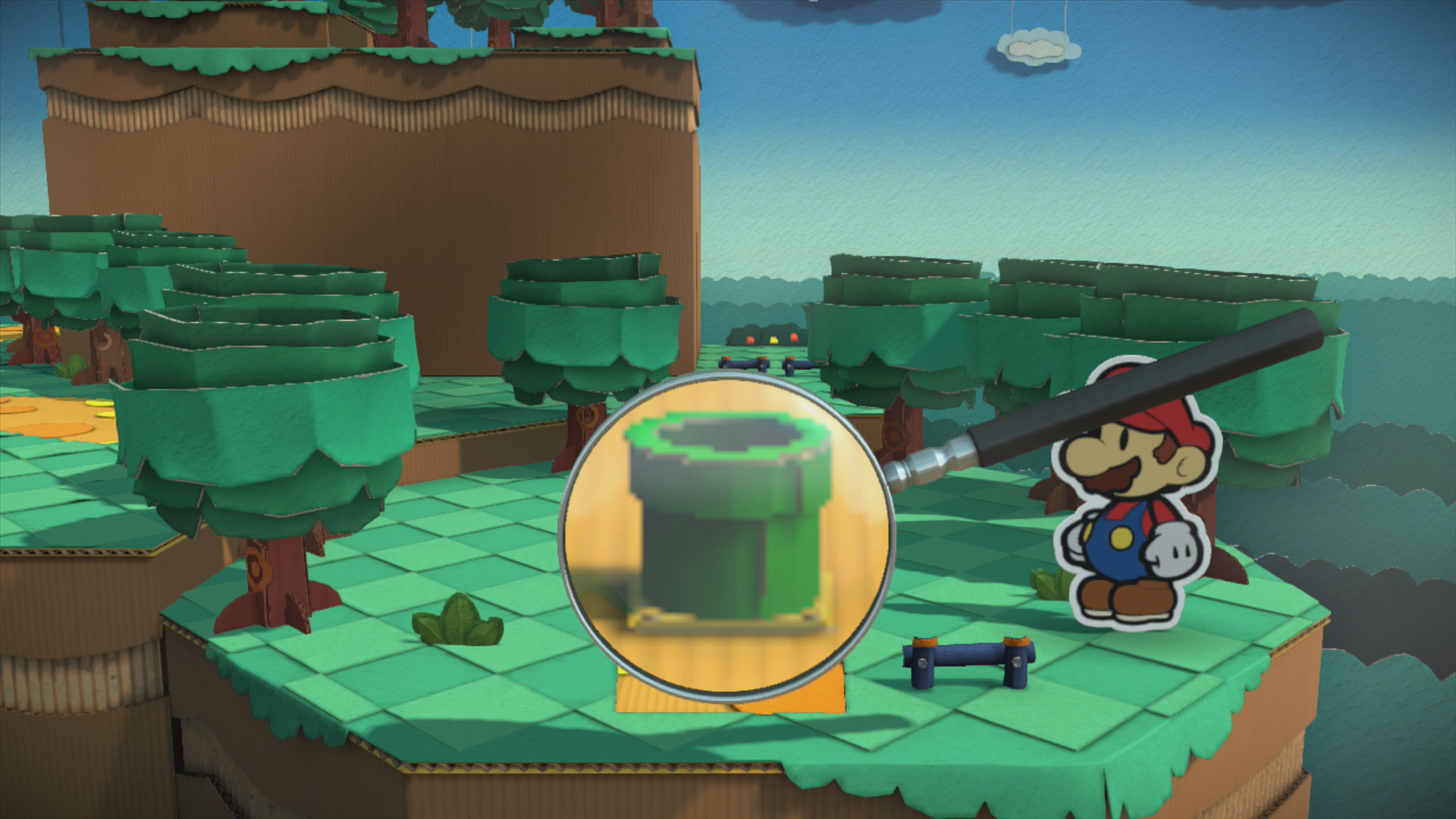 Sacred Forest - Paper Mario: Color Splash Walkthrough - Mario ...