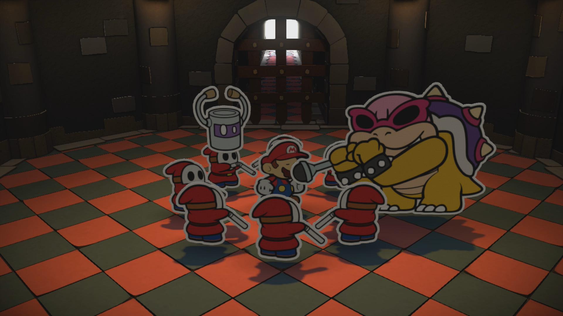 Black Bowser's Castle - Paper Mario: Color Splash Walkthrough