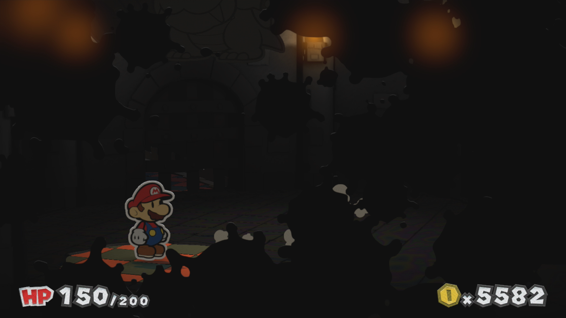 Black Bowsers Castle Paper Mario Color Splash Walkthrough