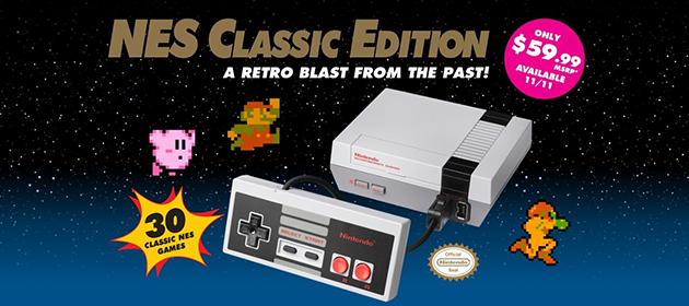 NES Classic Edition Released Worldwide!