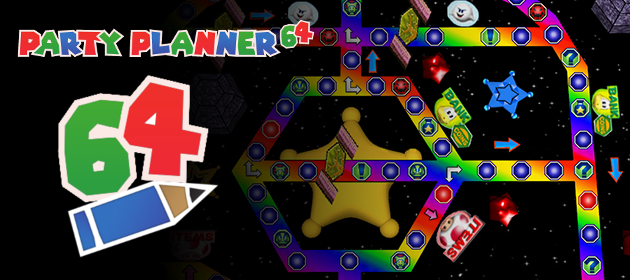 Beta for the Custom Mario Party Board Editor PartyPlanner64 Released