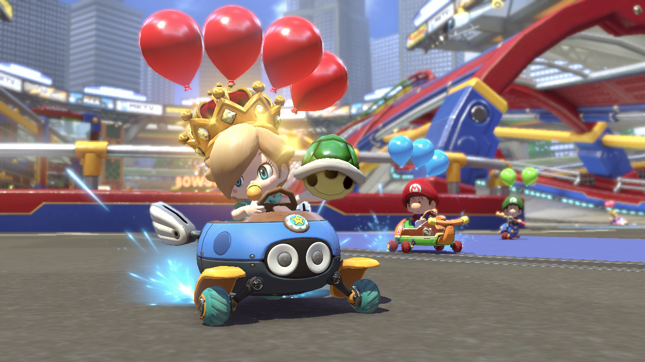 Mario Kart 8 Deluxe Revealed Battle Mode And New Characters