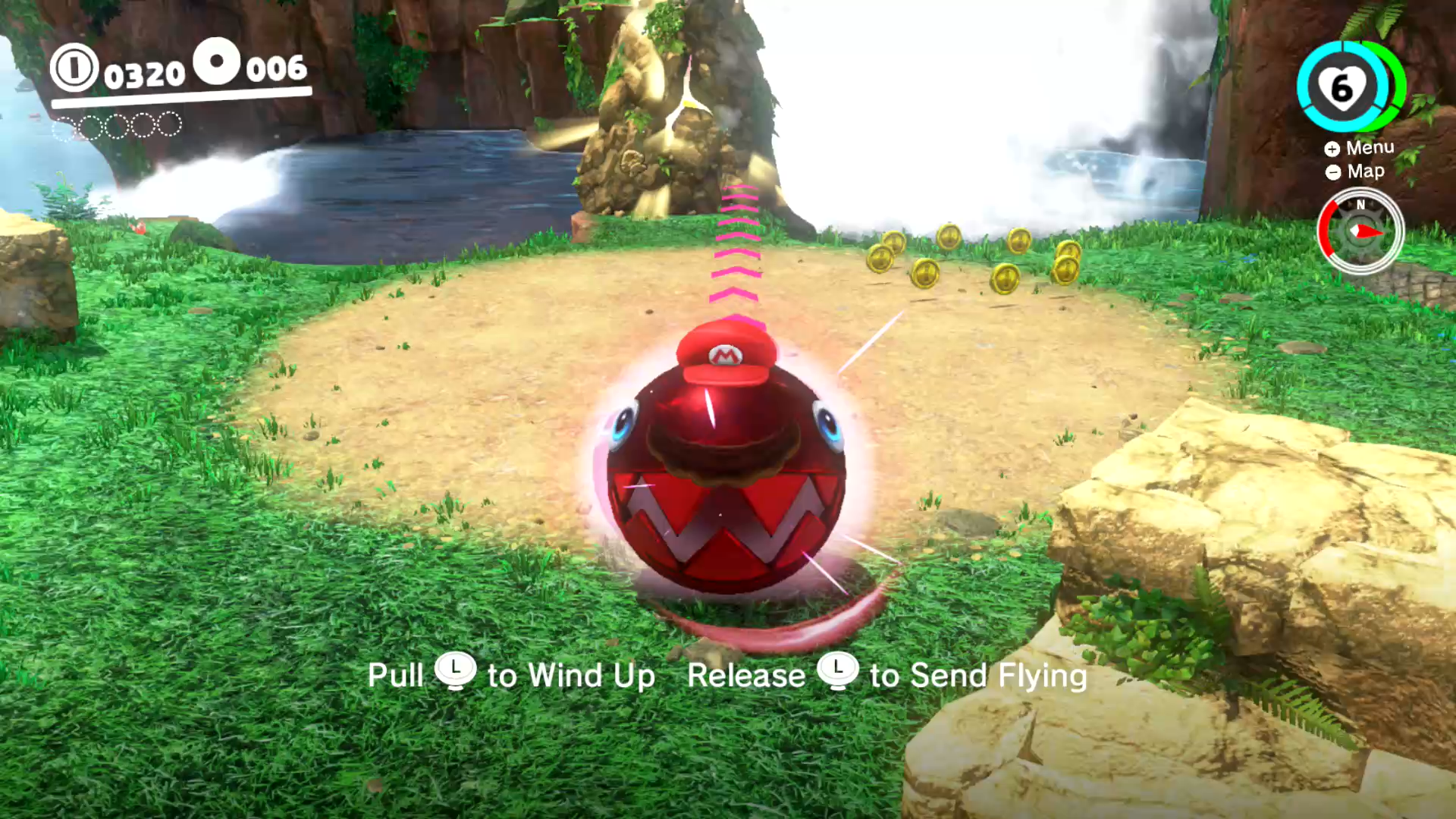 super mario odyssey mushroom kingdom chest order