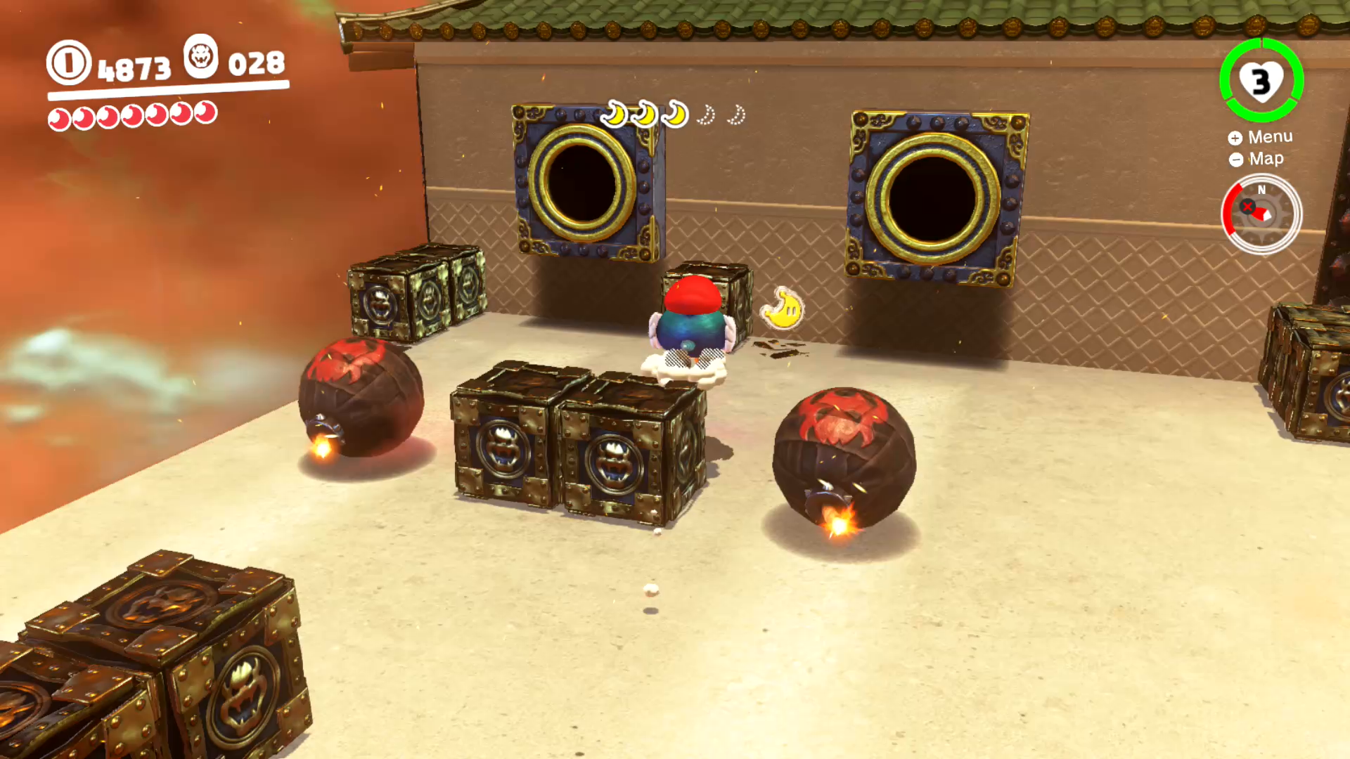Bowser S Kingdom Power Moons 1 20 Super Mario Odyssey