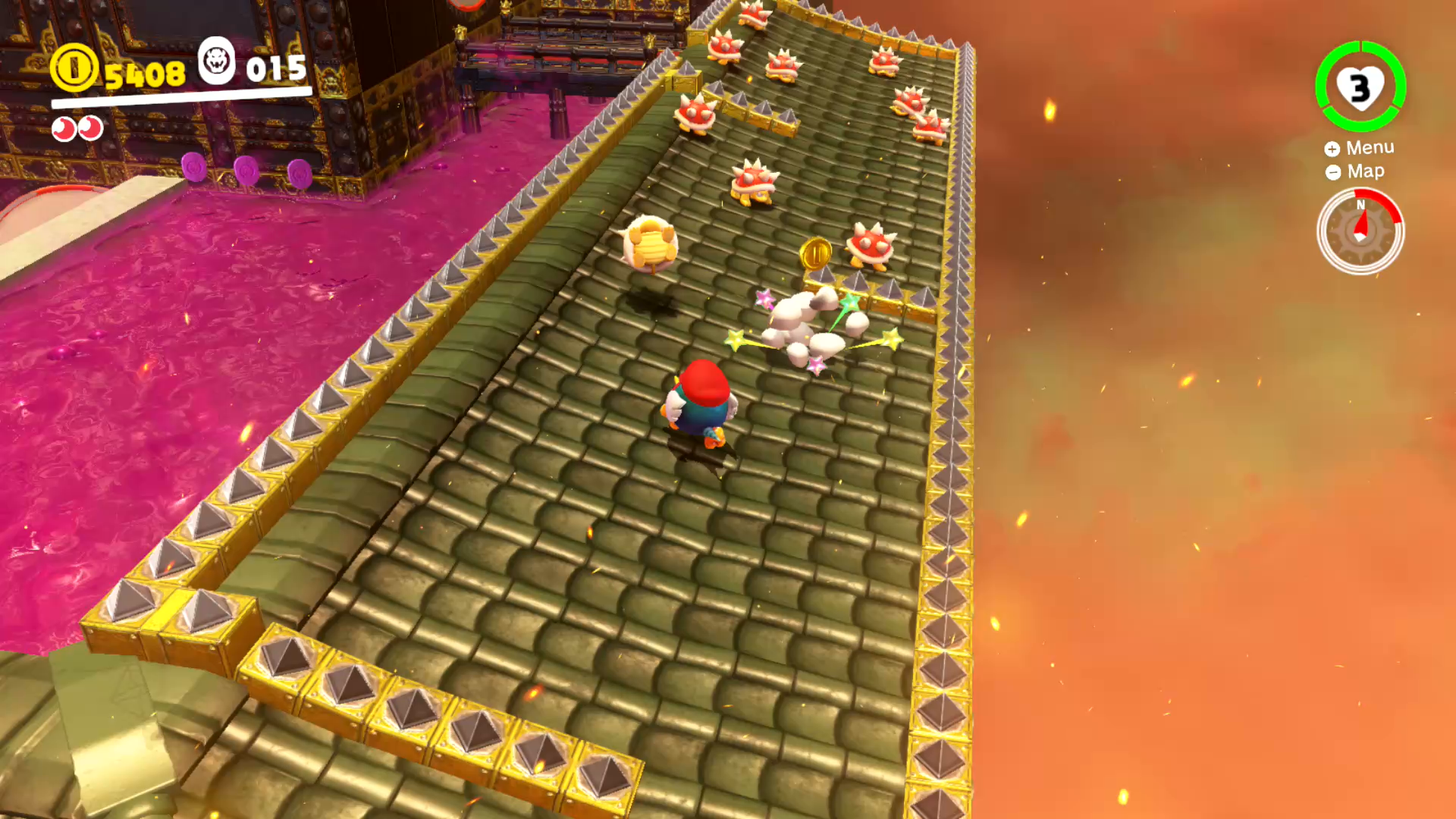 Bowser S Kingdom Power Moons 21 40 Super Mario Odyssey