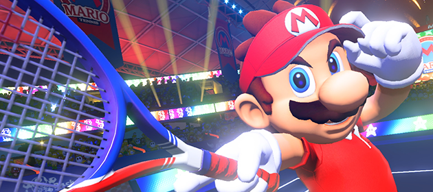 Mario Tennis Aces Announced