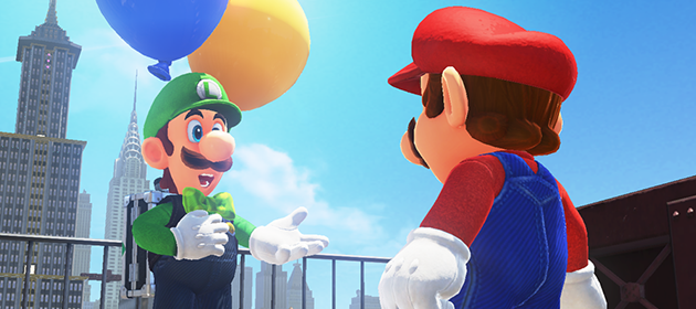 Luigi Update Coming to Super Mario Odyssey