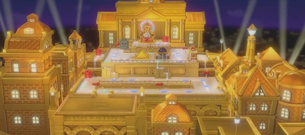 New Golden Board Revealed for Super Mario Party