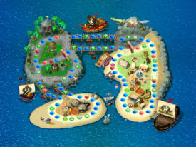 Pirate Land - Mario Party 2 Boards