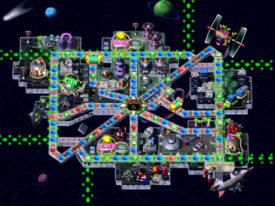 Space Land - Mario Party 2 Boards