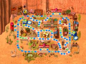 Western Land - Mario Party 2 Boards