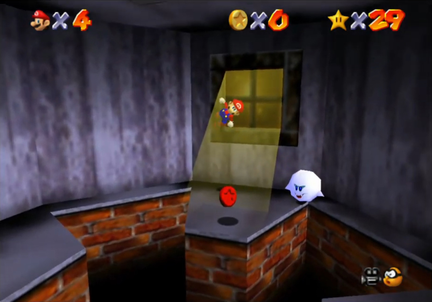 mario 64 haunted house 8 red coins